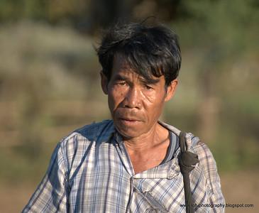 In a Thai Yai village - December 2009