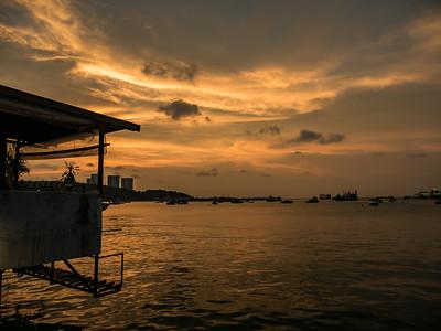 Pattaya City Sunset