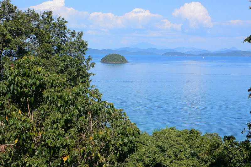 The view from the Supalai Best Western, on the secluded Ao Nang Bay in north-eastern Phuket.