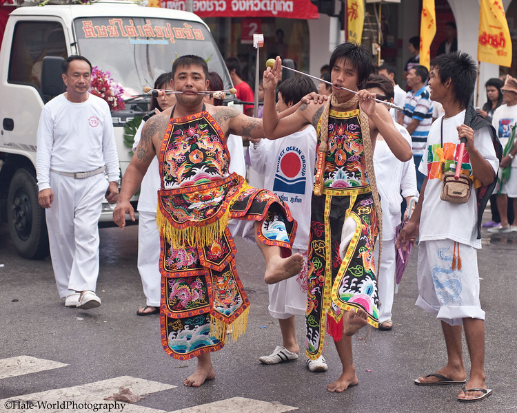 Ma Song Participate In Morning Procession Through Phuket Town