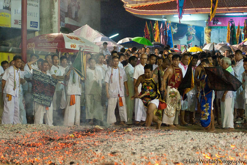 Ma Song Fire Walks at Ban Neouw Shrine