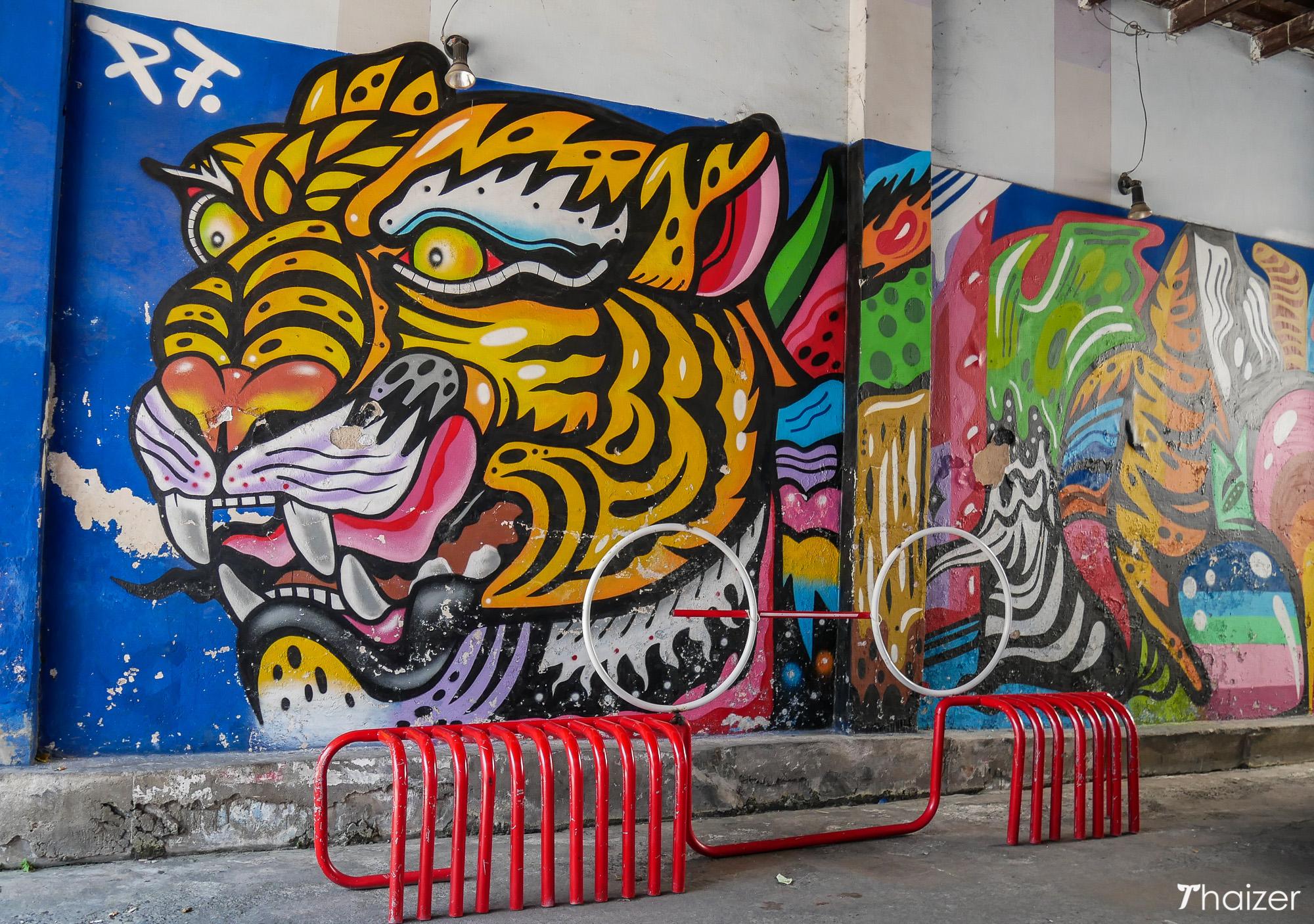 kin kopi by artist P7, Phuket Town