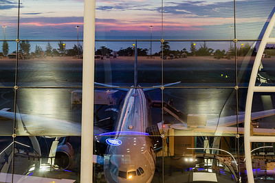 Sunset at Phuket International