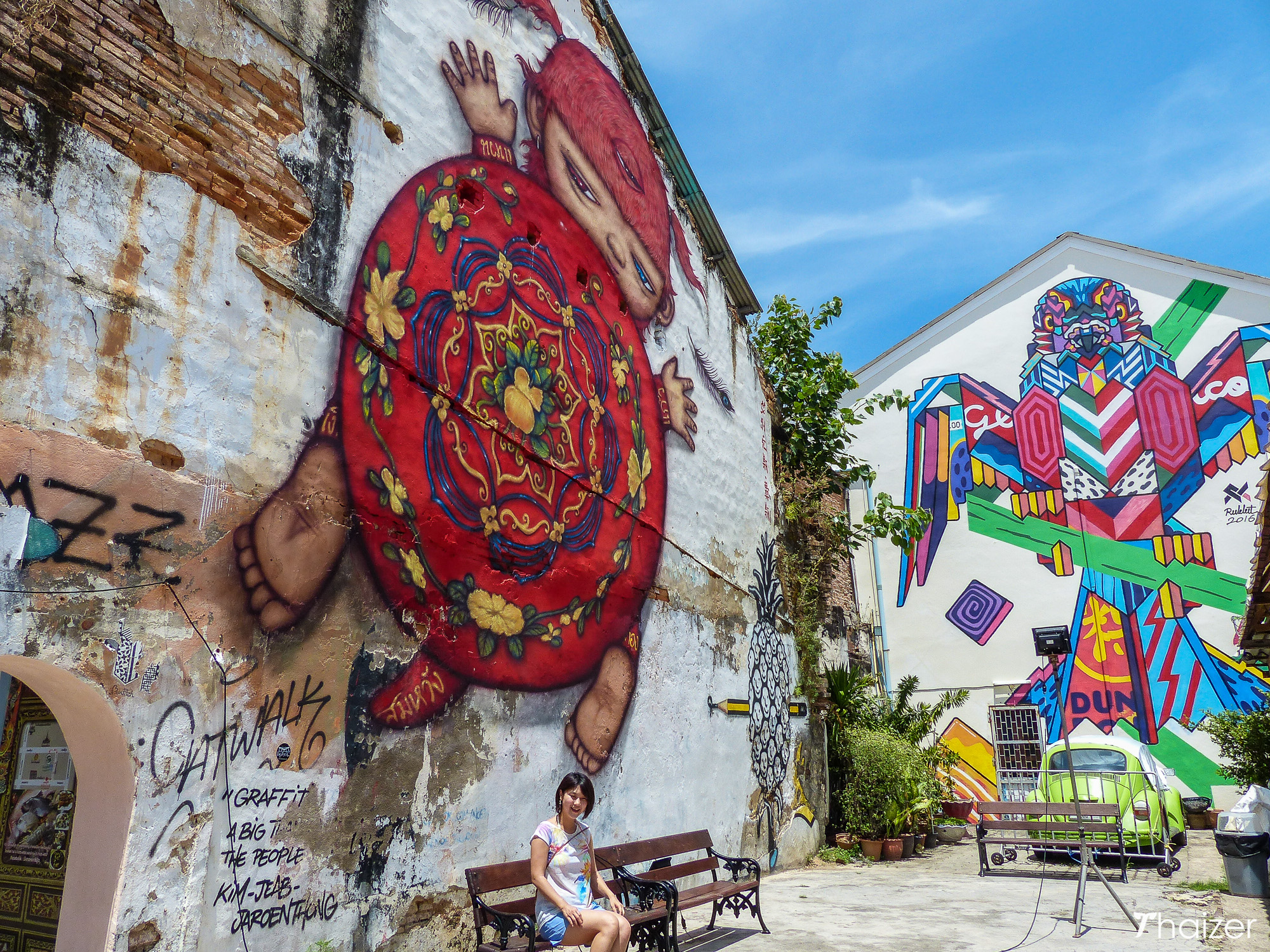 Street Art in Phuket Town Celebrates Local Food & Culture