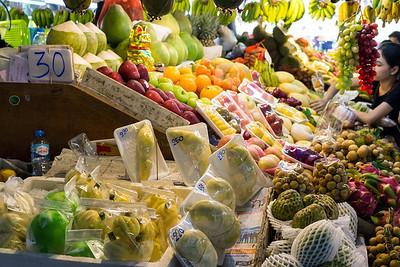 Fresh Fruit at Ban Zaan Market