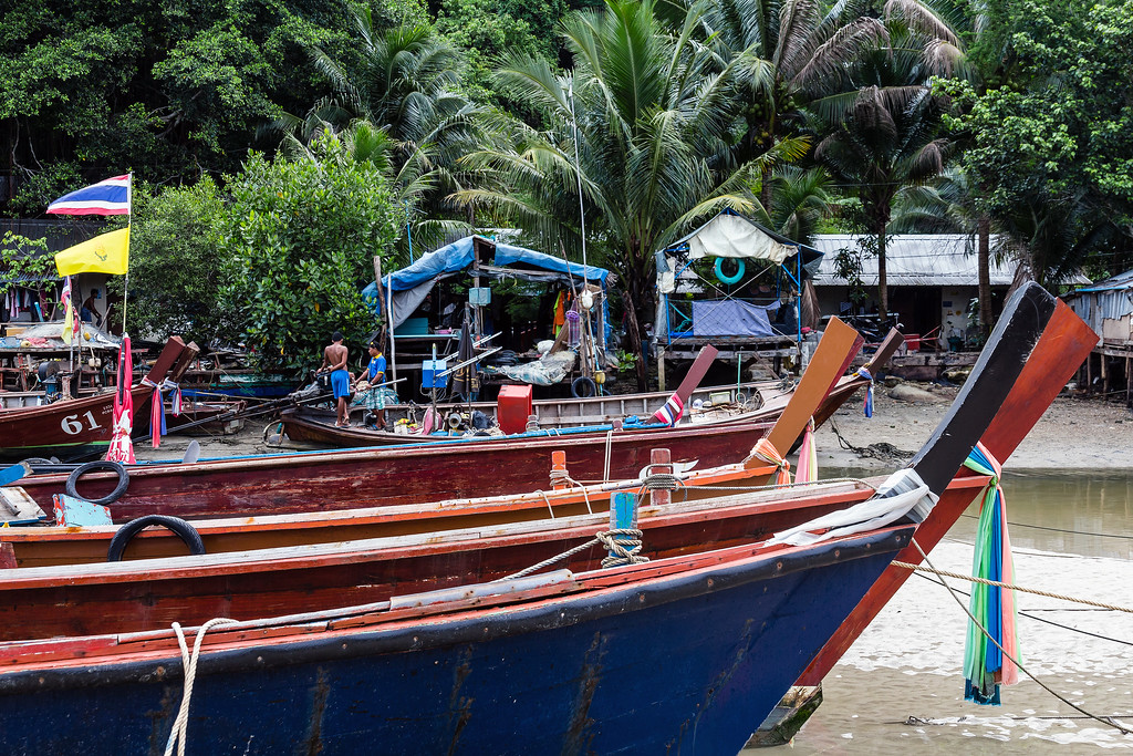 Patong Fishing Village