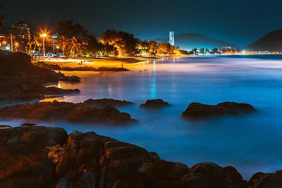 Patong Beach at Night