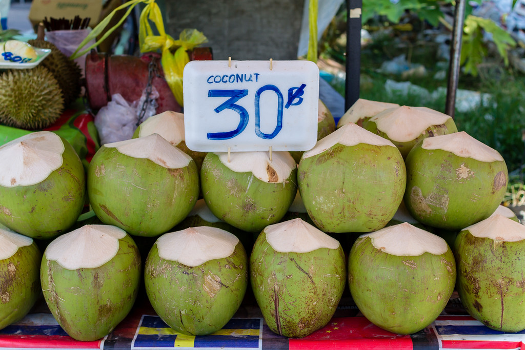 Young Coconut Water, Patong Beach