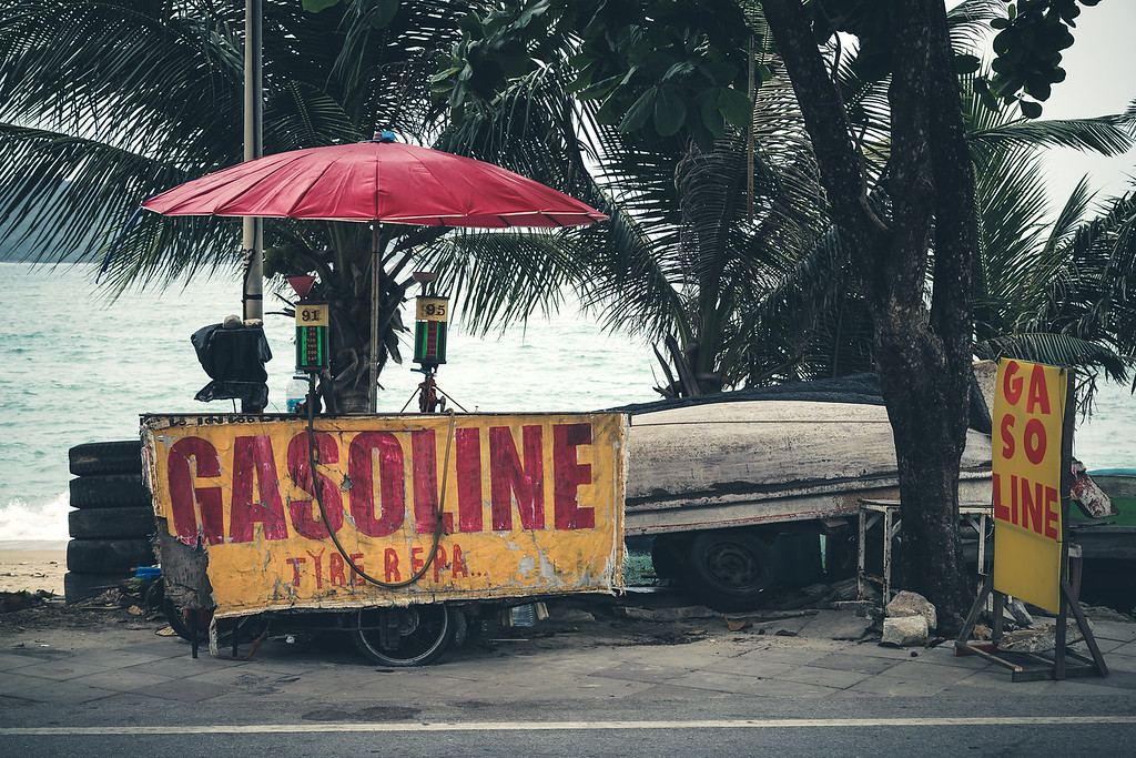 Gasoline and Tyre Repair
