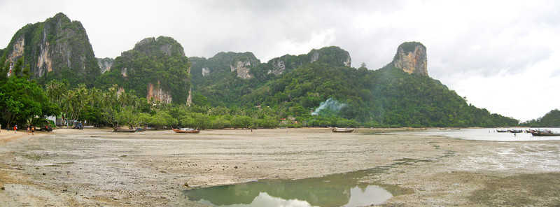 Railay Beach at low tide. Thailand