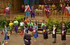 Thai cultural show at the Rose Garden, Thailand, Asia.