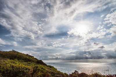 A beautiful cloudy sky on Koh Samet, Thailand.
