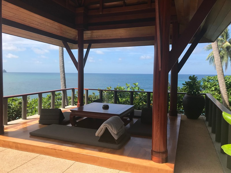 Panoramic view from villa 45