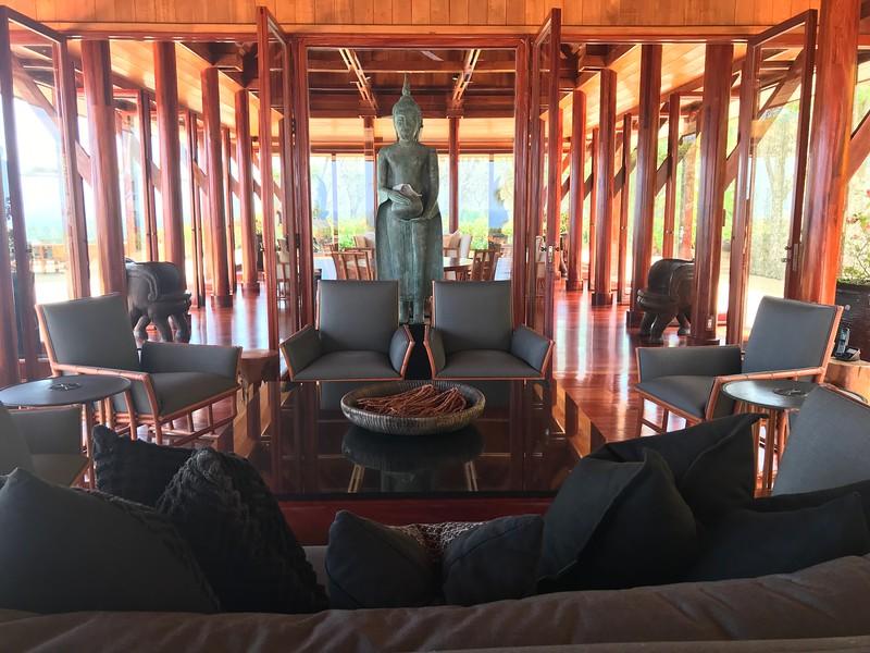 Lounge in villa 45