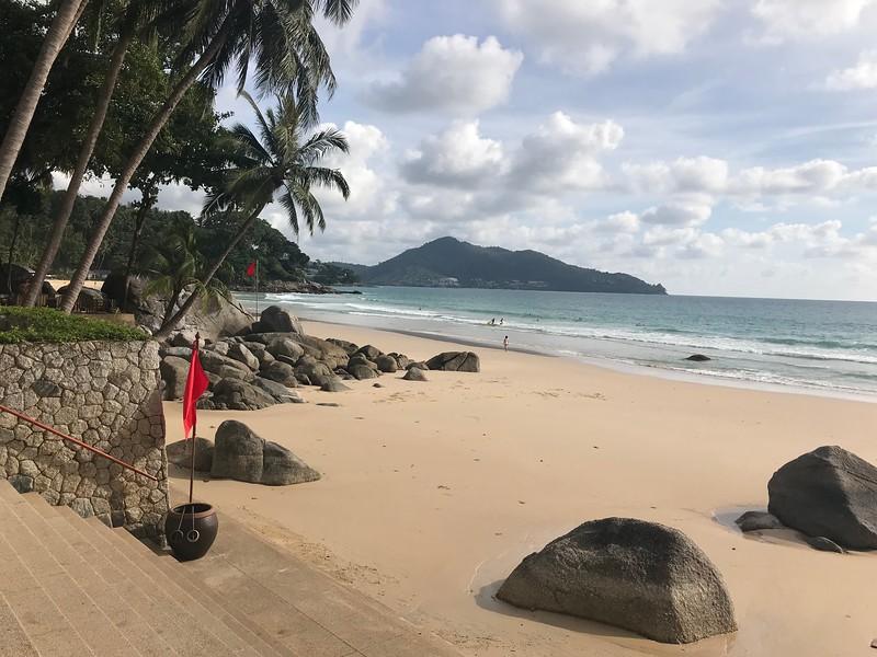 Amanpuri's second beach.