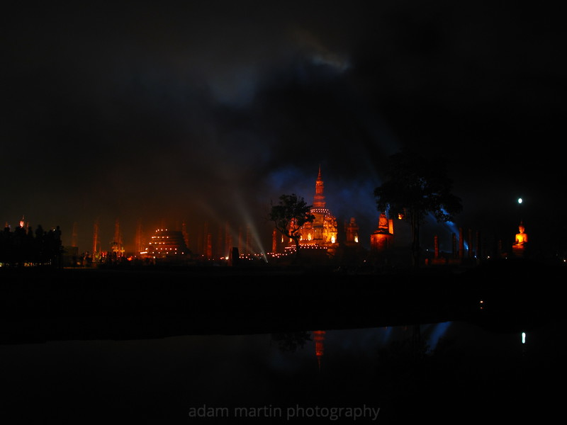 Ayuthaya Sound & Light Show, Thailand