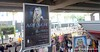 Poster advertising an Avril Levigne tour in Bangkok, Thailand in February 2014