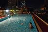 Elegance Suites Hotel swimming pool, Silom, Bangkok, October 2008