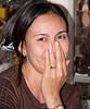 Sweet woman at the Damnoensaduak Floating Market outside Bangkok in October 2008