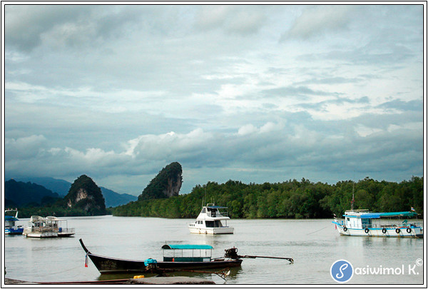 View from Krabi Town