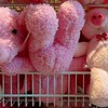 Fluffy toys for sale at Robinsons in Trang, Thailand in May 2016