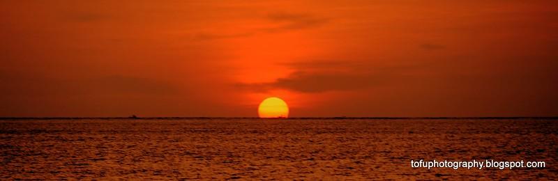 Khao Lak sunset - May 2016