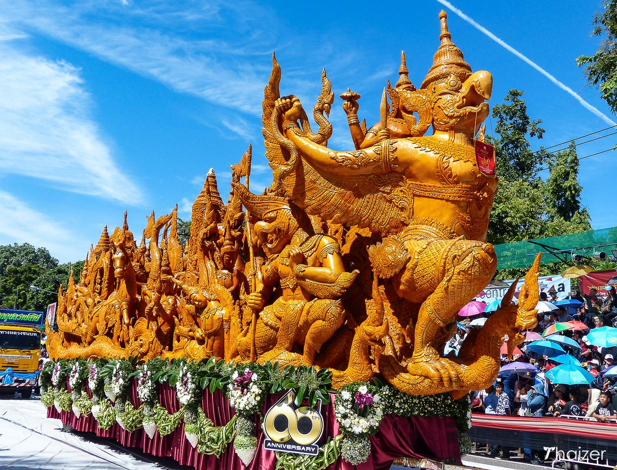 Ubon Ratchathani Candle Festival, Thailand