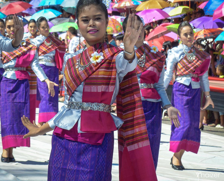Festival della candela in Ubon Ratchathani