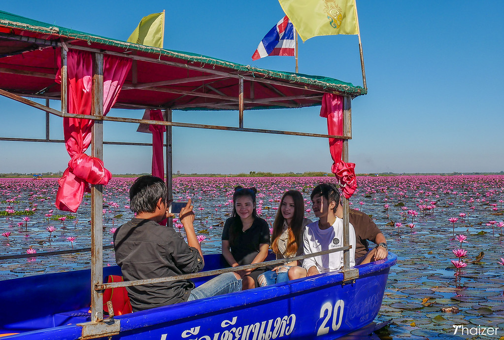 big boat at Red Lotus Sea