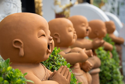 Happy Chiang Mai Buddhas