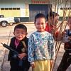 Yunnan boys with guns, Mai Salong, Thailand