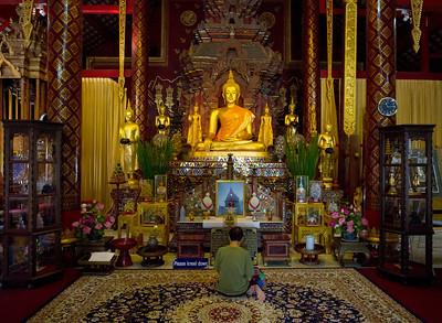 Chiang Man Temple in Chiangmai.