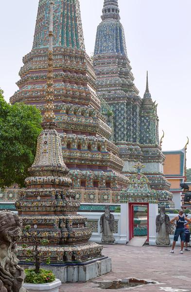 Inner Court at the Royal Palace. Bangkok.