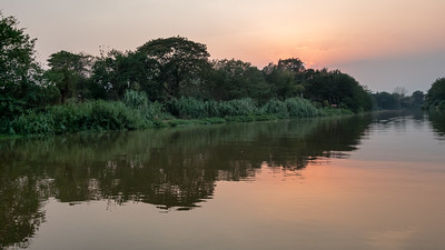 Sunset on the Mae Ping River