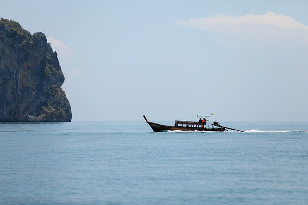Long-Tail Boat, Ao Phang Nga National Park, Phang-Nga Bay, Thailand