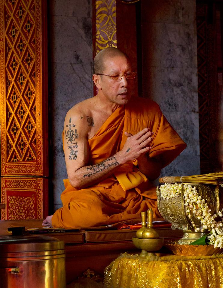 Portrait of a Monk No1.