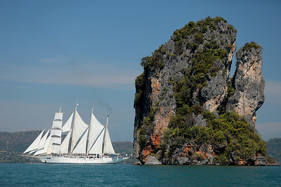 S/V Star Clipper, Ao Phang Nga National Park, Phang-Nga Bay, Thailand
