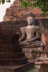 Behind the Ruins. Sukhothai.