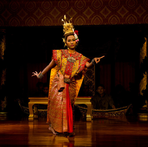 "Thai Dancer No2. 15"" x 15"""