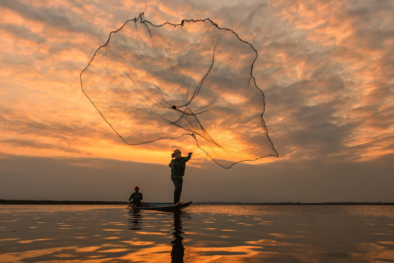 Throwing the Net