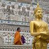Buddha Statue and Buddha Tower, Bangkok