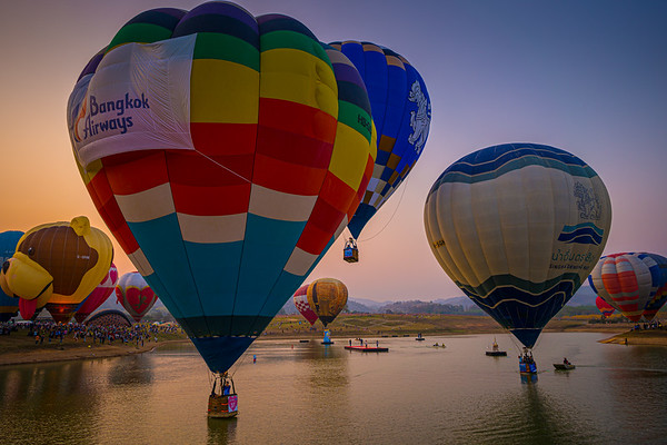 Chiang Rai Balloon Festival