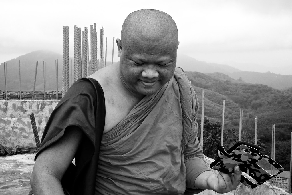 Buddist Monk, Patong, Thailand