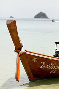 Long-Tail Boat, Ko Adang, Batong Island Group, Thailand