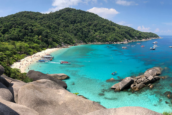 Ko Similan Maritime National Park, Andaman Sea, Thailand