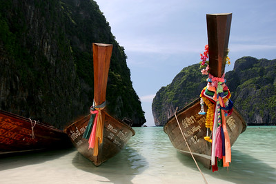 Long-Tail Boats, Phi Phi Islands, Thailand