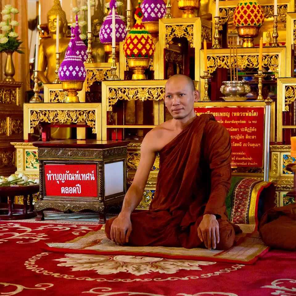 Portrait of a Monk No2.