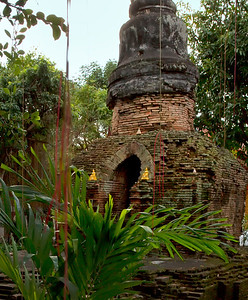 Old Ruins in Chiangmai.
