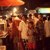 Night market, Phetburi, Thailand