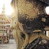 Stone Guard of the Wat Pho (วัดโพธิ์), Phra Nakhon district, Bangkok, Thailand
